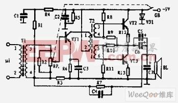 小功率音频信号放大器图片