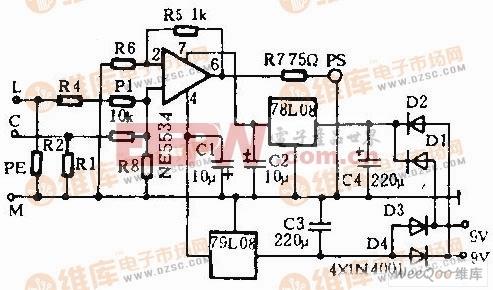 S-Video/PAL视频转换器电路图