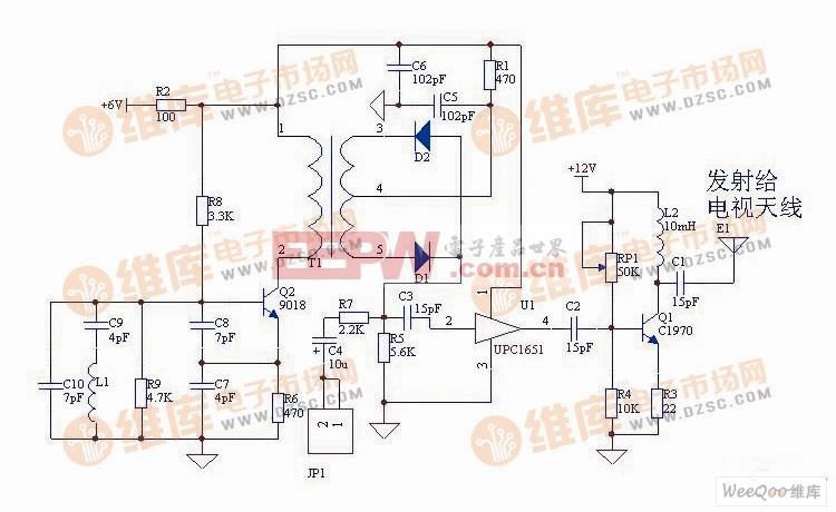 电容三点式_并联改进型电容三点式振荡电路图