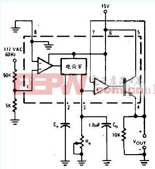 工作覆盖范围是0.01-0.1μF的电容计