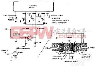 视频中频放大器和低电平视频检波电子电路 -中频