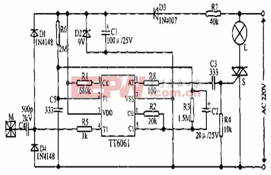 低功耗四级调光电路