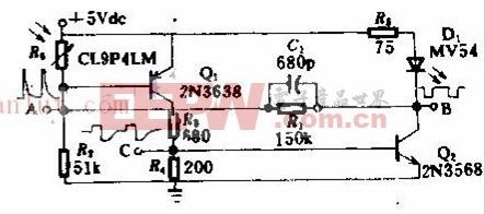 5kHs光电池振荡器原理及电路