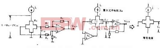 霍尔元件及其应用电路简易图解