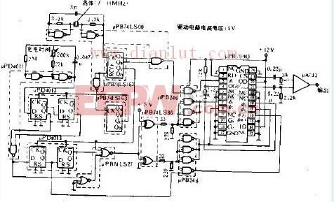 CCD图像传感器驱动电路