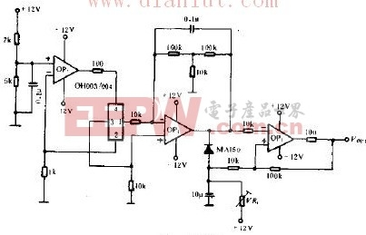 OH003 OH004的物体检测电路