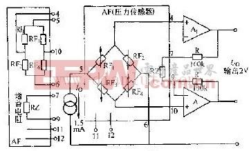 IC--1431型硅压阻式压力传感器及其经典电路