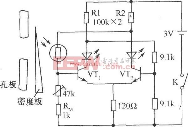 照相机电子测光系统电路图解