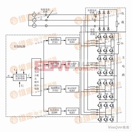 有源电力滤波器的构成电路