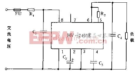 HV2405E的基本应用电路