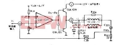 交、直流负反馈二次线性校正电路