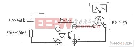 光电耦合器的光电效应判电路图
