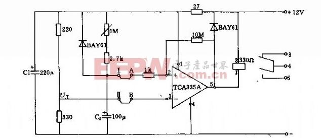 基于延时为o.2―1005的电路图