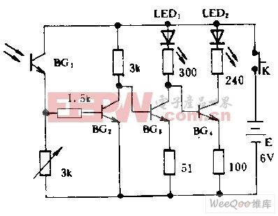 光照度测量仪电路