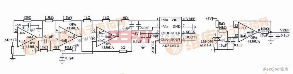 模拟前端信号调理电路