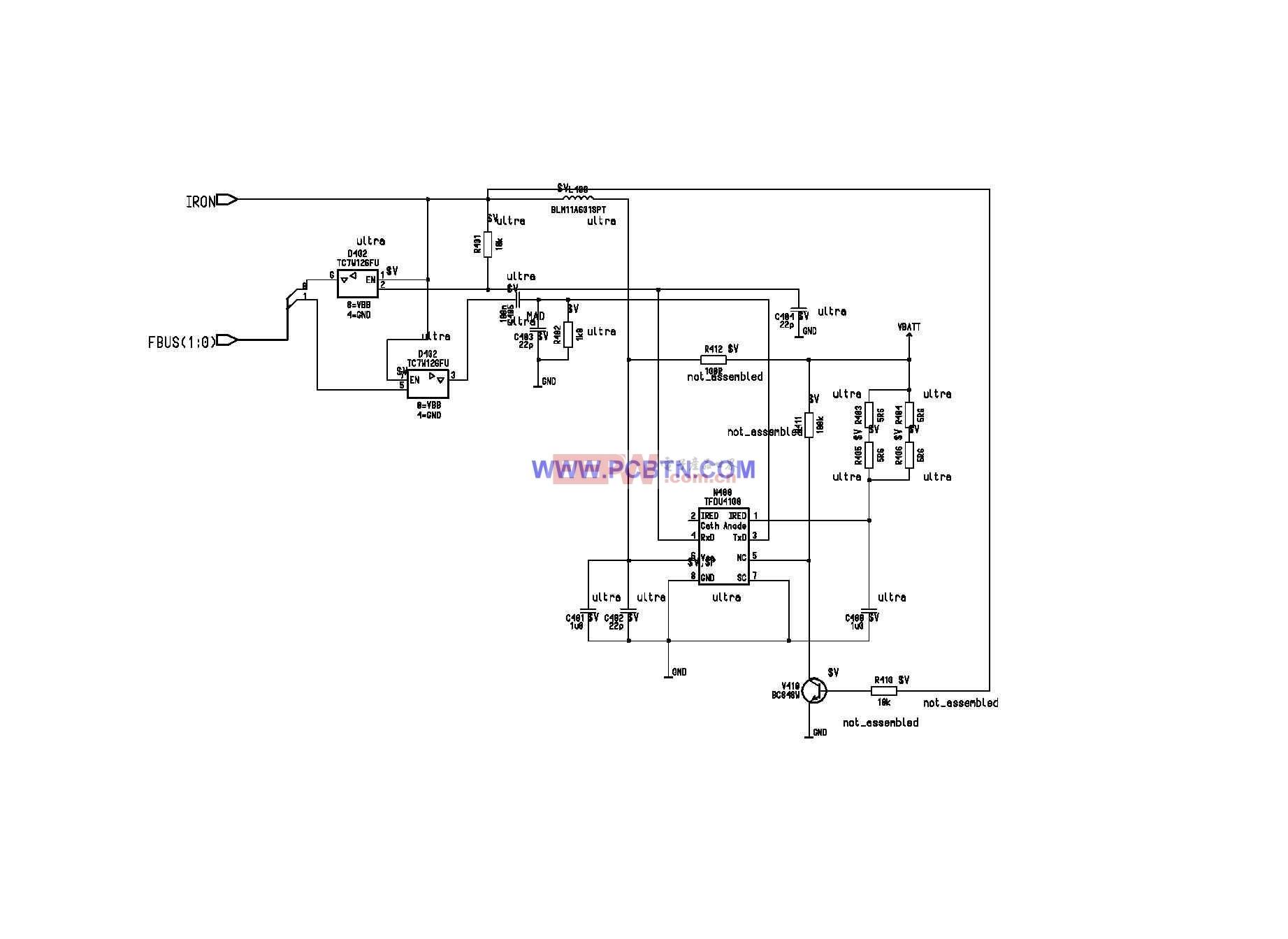诺基亚6110电路图设计_07