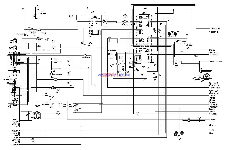 诺基亚6110电路图设计_03
