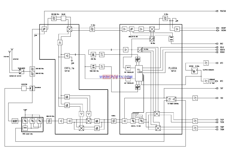诺基亚6110电路图设计_01