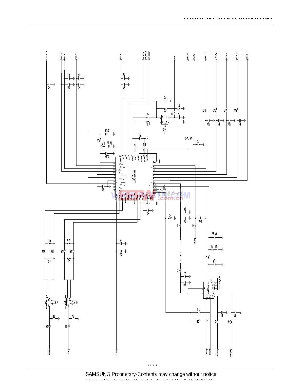 三星E708的电路图