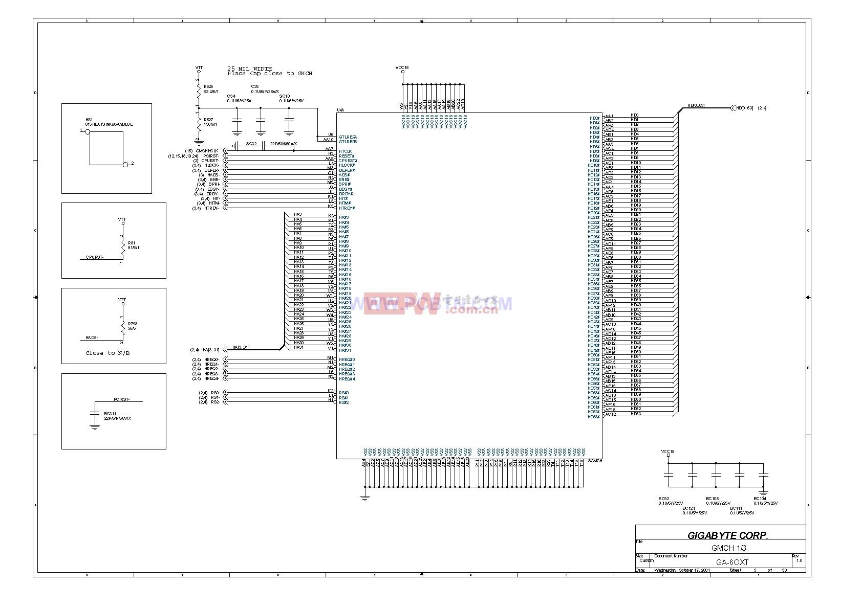6OXT(1.0)电脑主板设计图_05