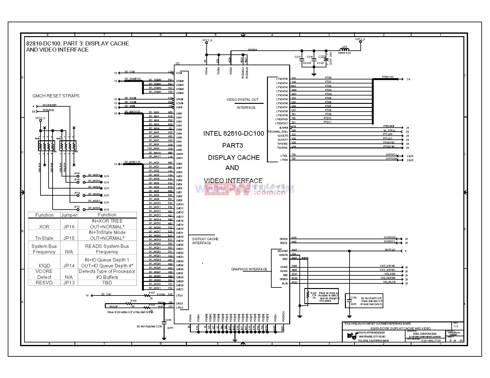 810电脑主板设计图1[_]09-单片机综合电路图-电子产品
