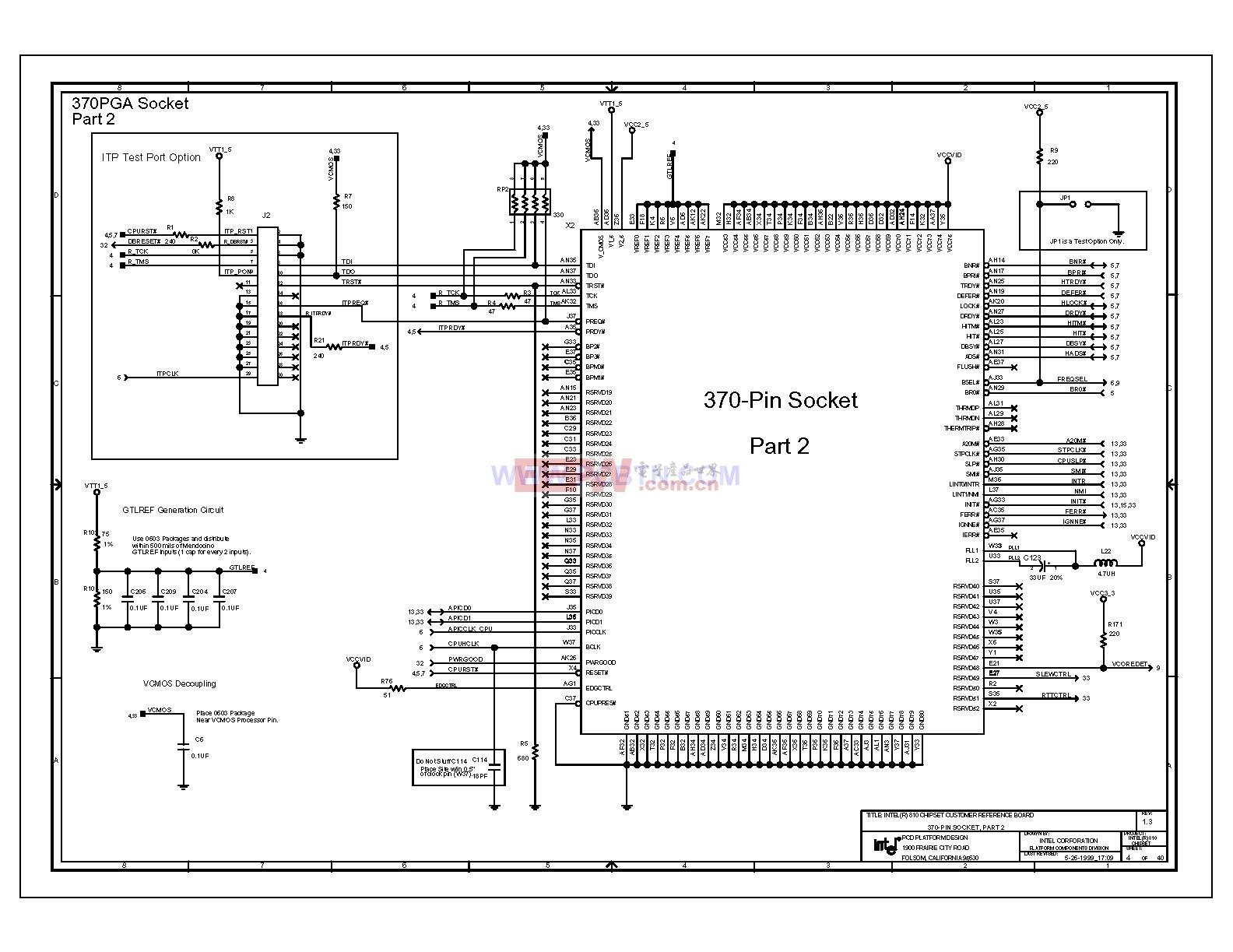 810电脑主板电路图1_04