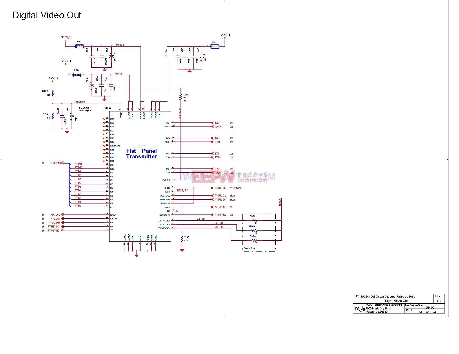 电脑主板电路图810_25