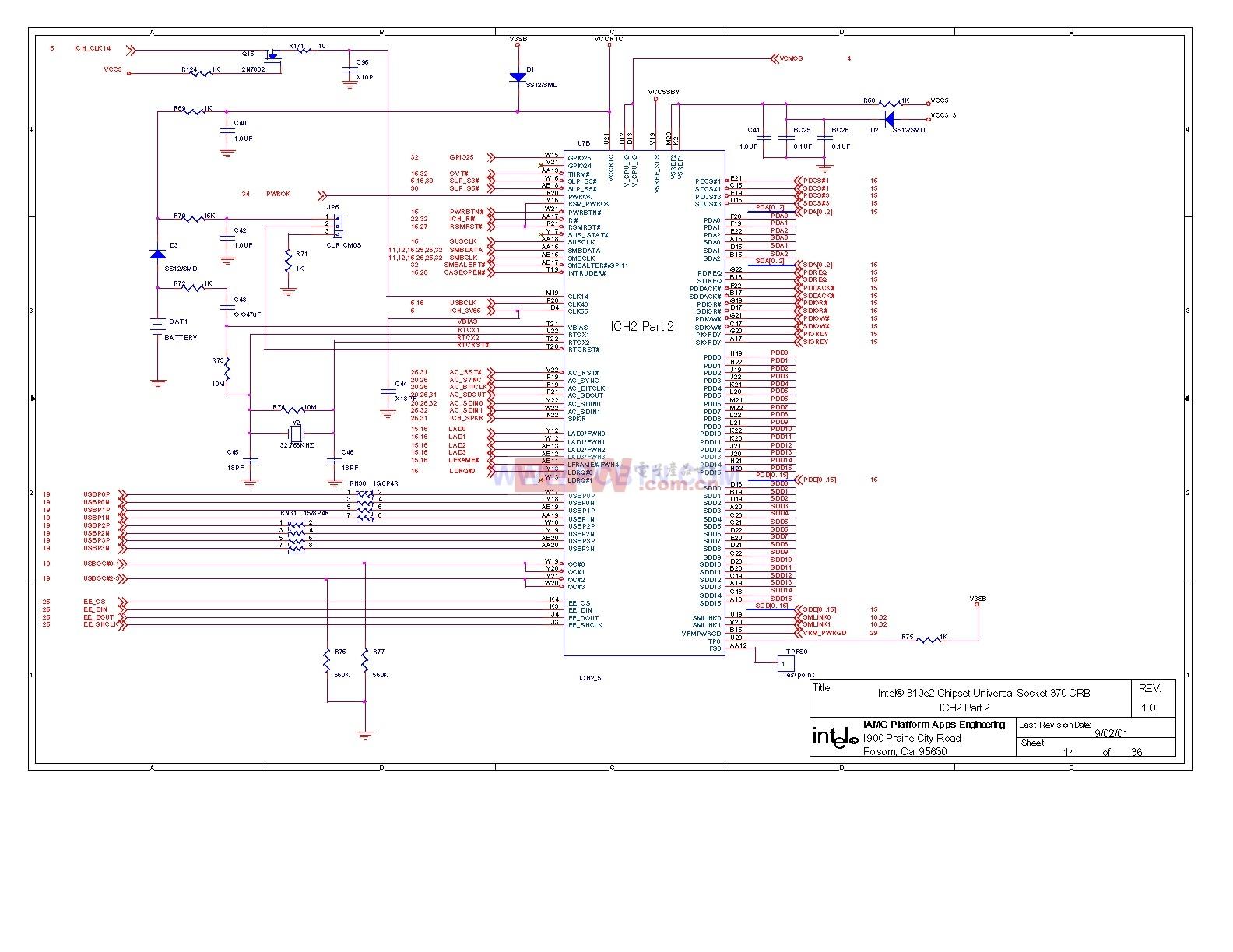 810电脑主板电路图2_14