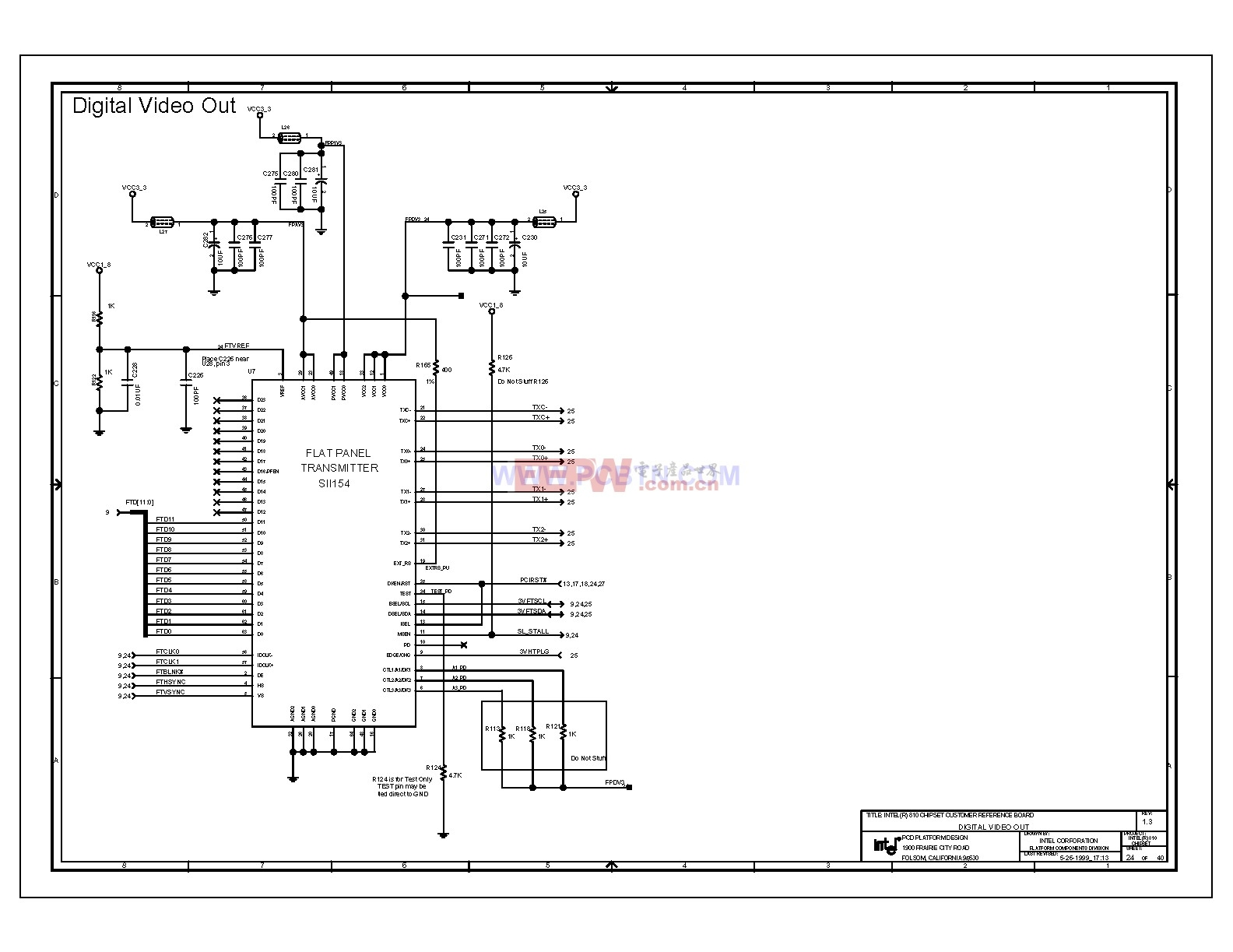 810电脑主板电路图1_24