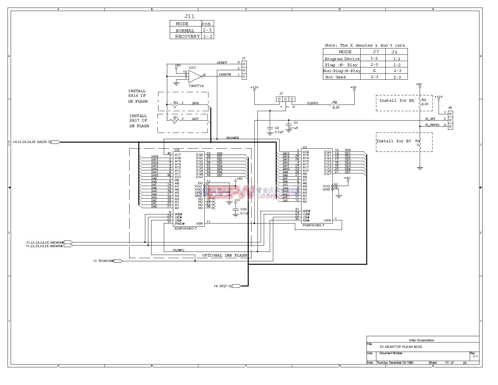 电脑主板设计图430TX_10