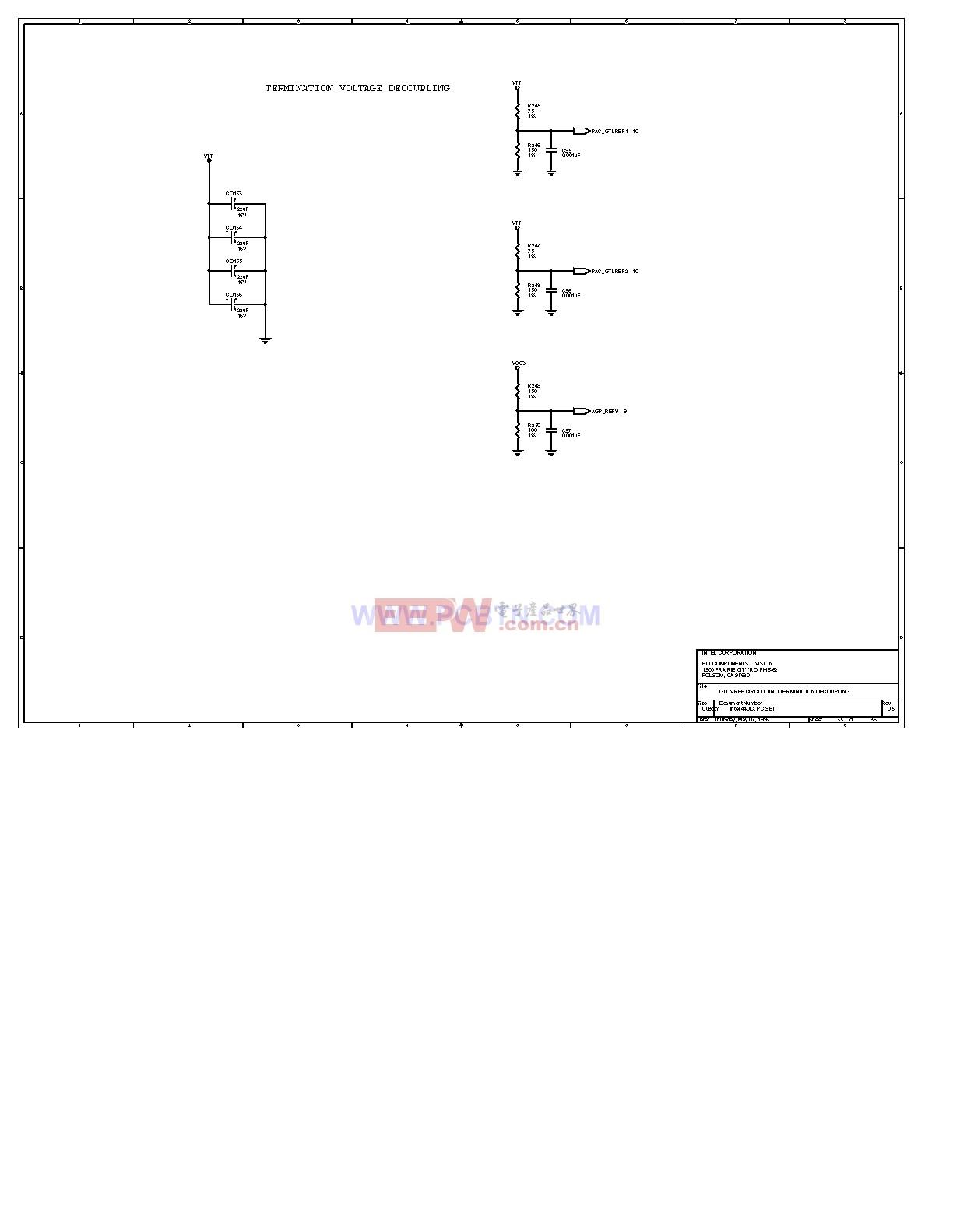 电脑主板设计图440LX_35