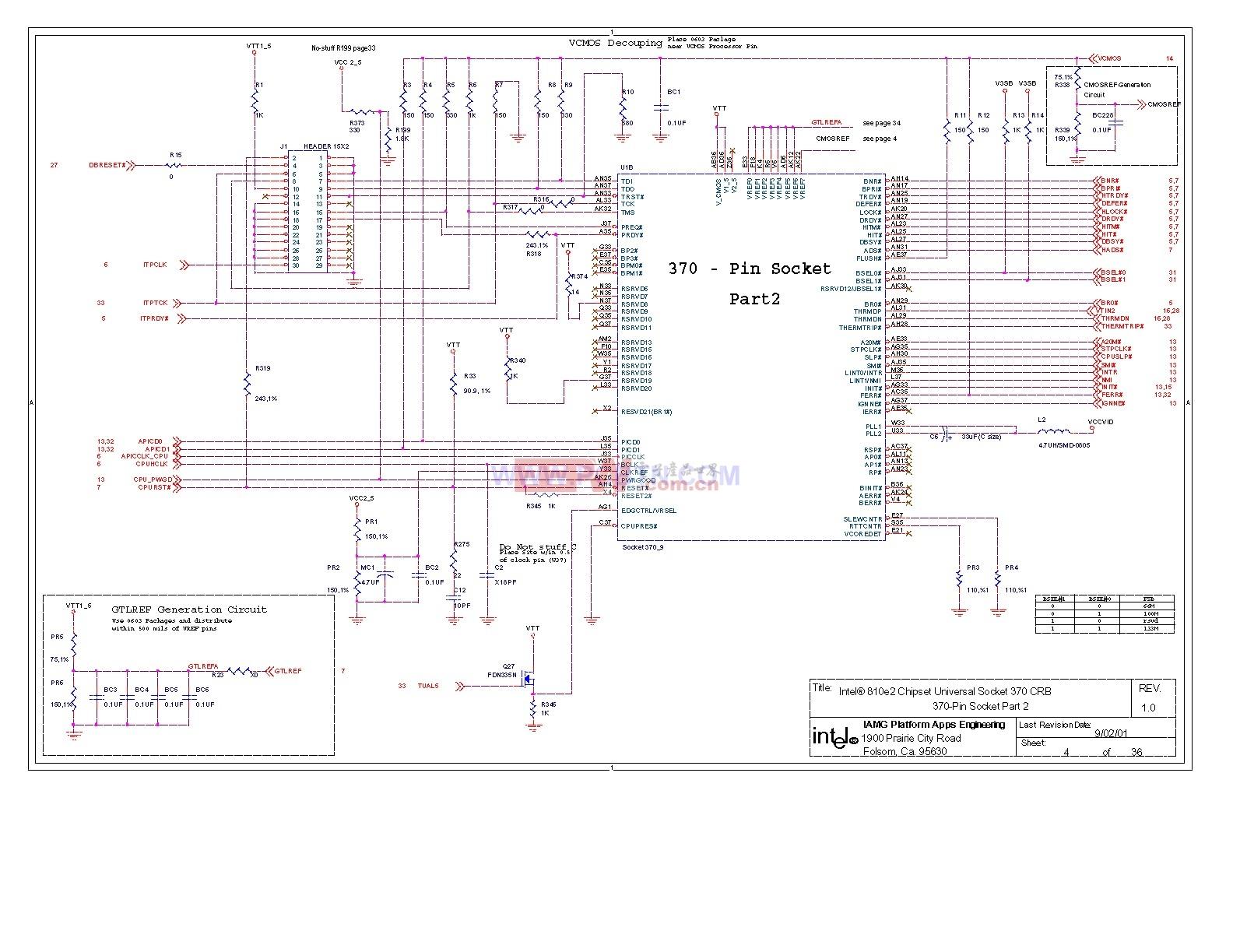 810电脑主板设计图[_]04-单片机综合电路图-电子产品图片
