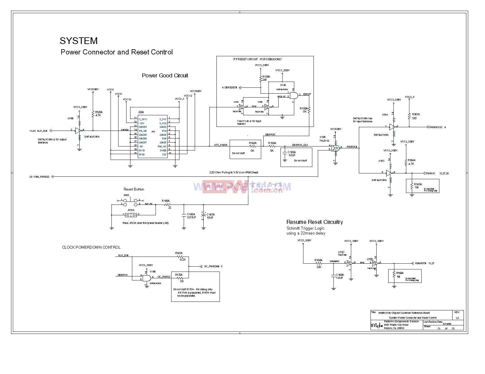 810e电脑主板设计图[_]31-单片机综合电路图-电子产品