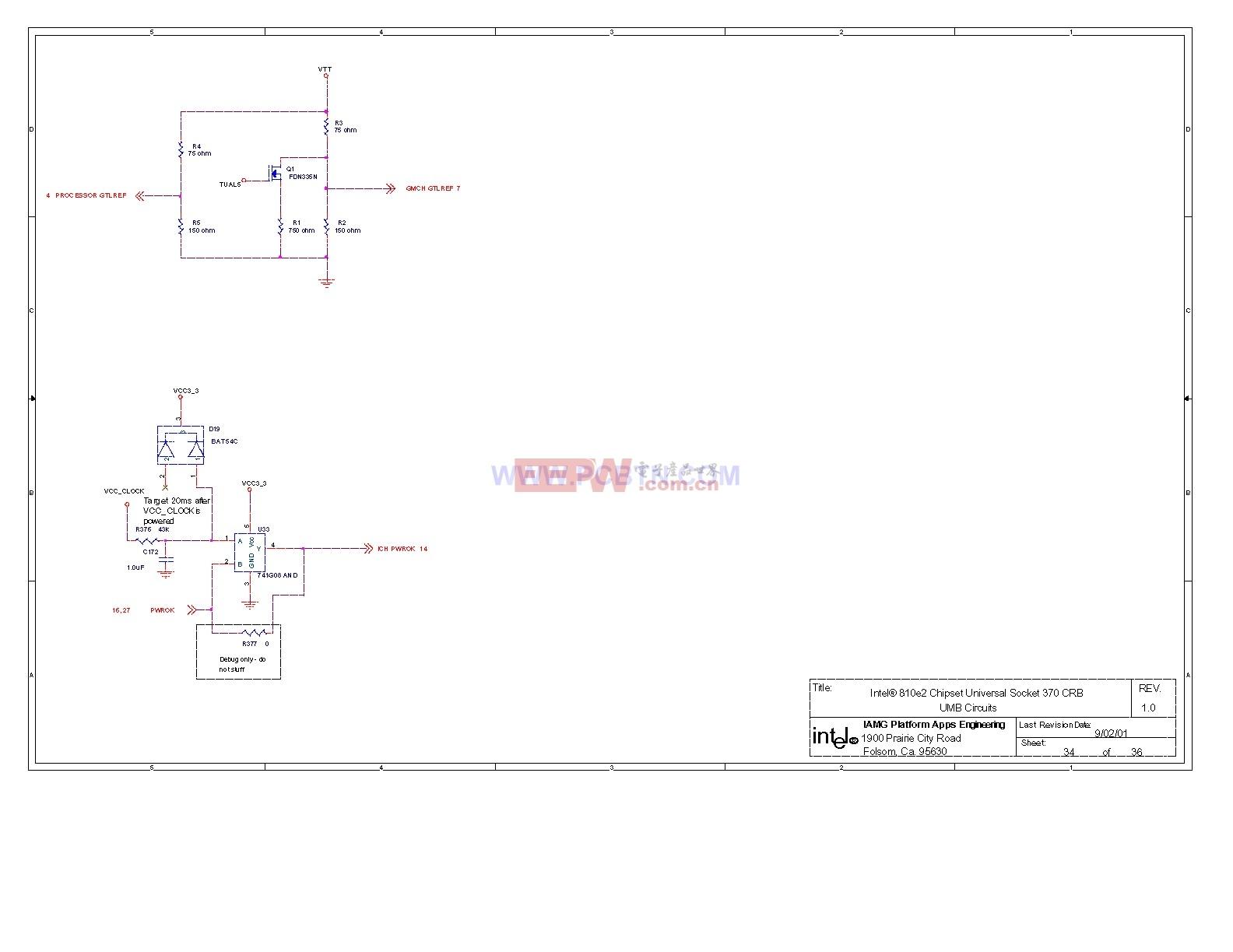 810电脑主板电路图