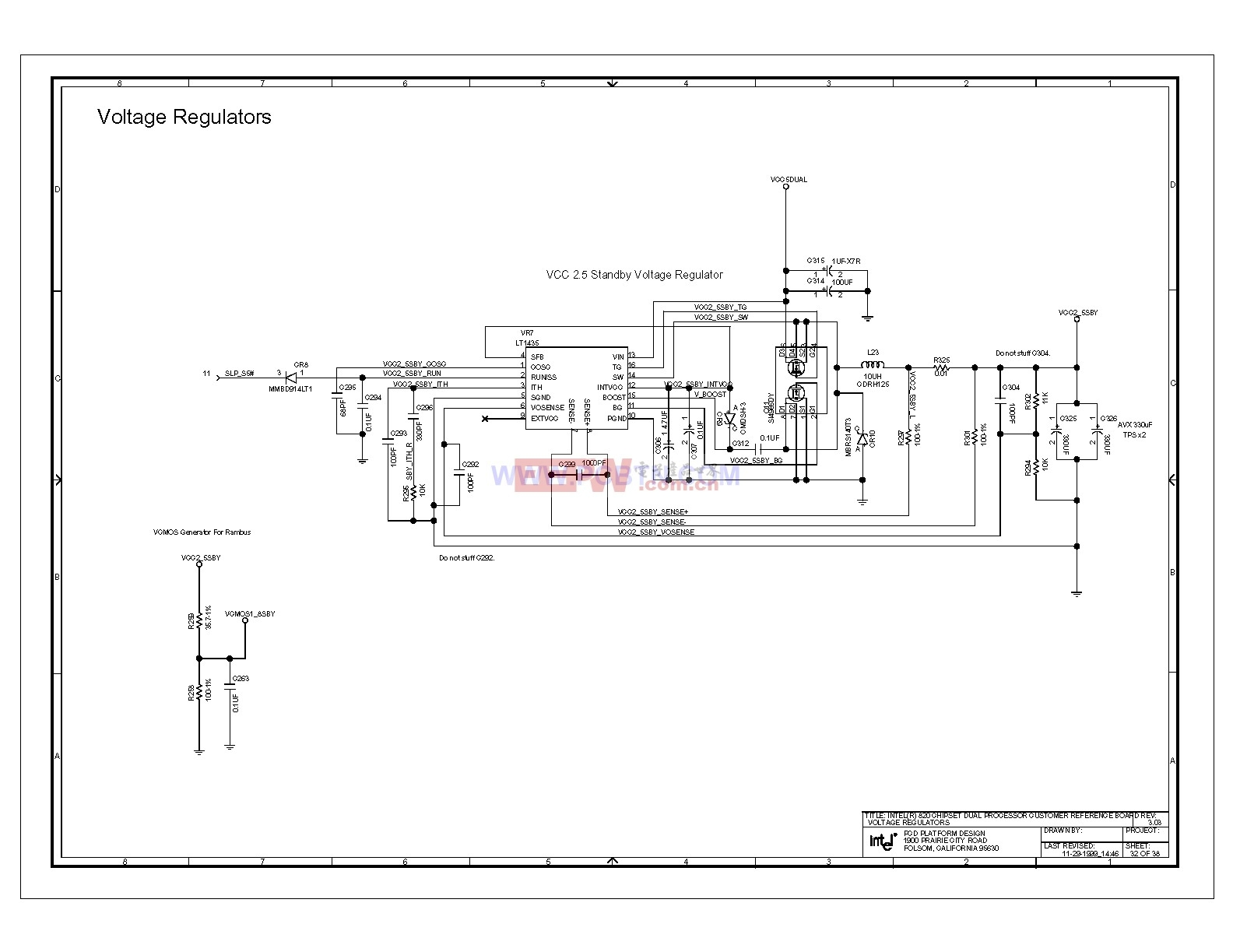 820e电脑主板电路图