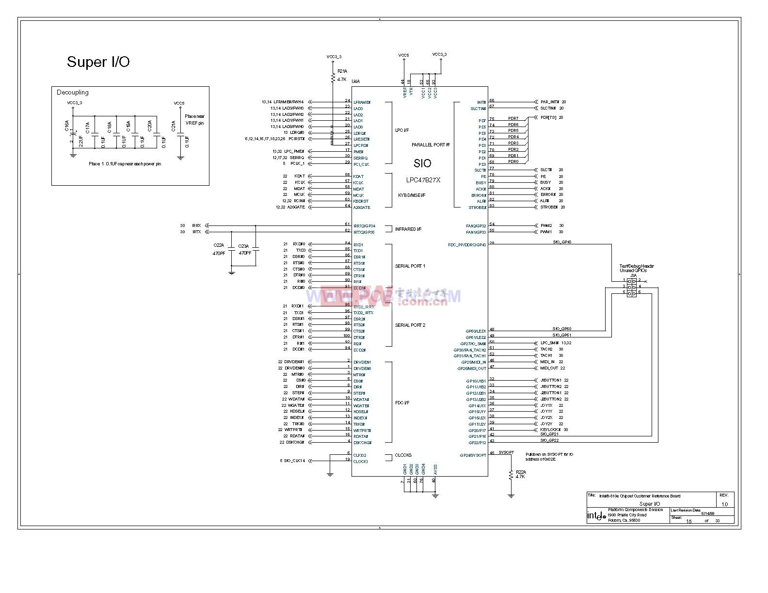 电脑主板810e电路图[_]15图片