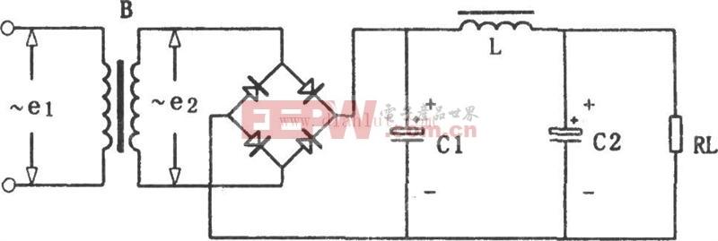 LC-π型滤波电路原理图