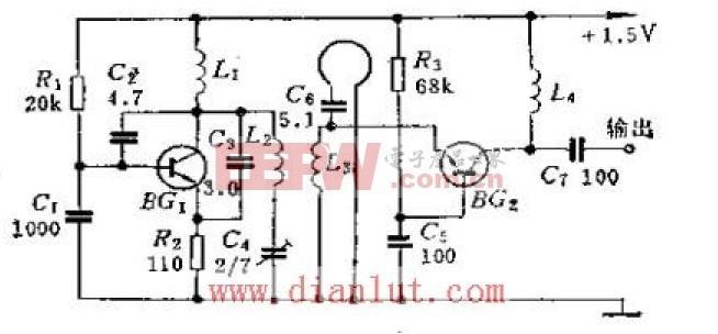 U/V频道转换器电路原理图