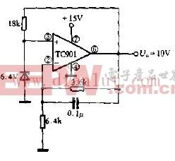 精密基准电压源电路原理图