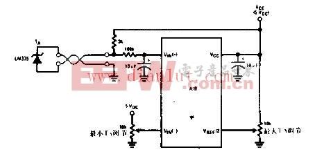 LMC6062仪表放大器电路图 -仪表 射频 接口图片