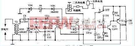 万家乐JSYZ5-A1燃气热水器电路设计