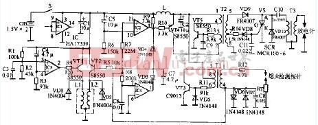 万家乐JSYD7-D2燃气热水器电路设计