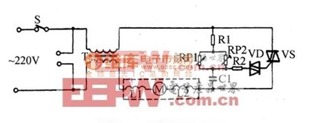 型号为HR6184的飞利浦吸尘器电路