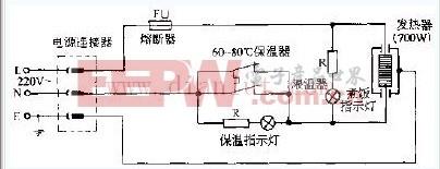 格兰仕CFXB50-70B豪华型多功能电饭锅电路