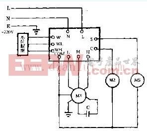 空调扇电路