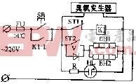 容声DCX-63A双温电子消毒柜电路原理图