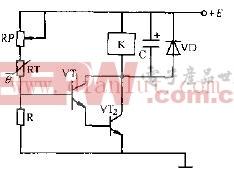 MZ60型热敏电阻器温控控制电路原理图