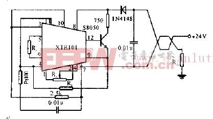 铂电阻温度变送器电路图