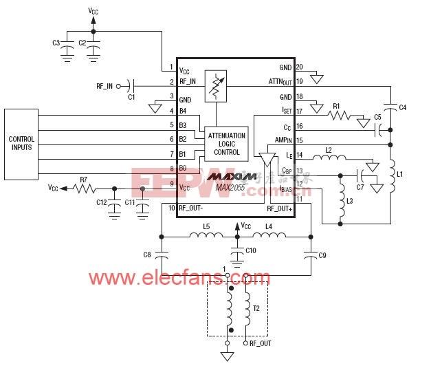 差分模数转换器(ADC)驱动器/放大器(DVGA)) www.elecfans.com