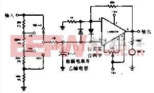 低成本高灵敏度电压表电路设计